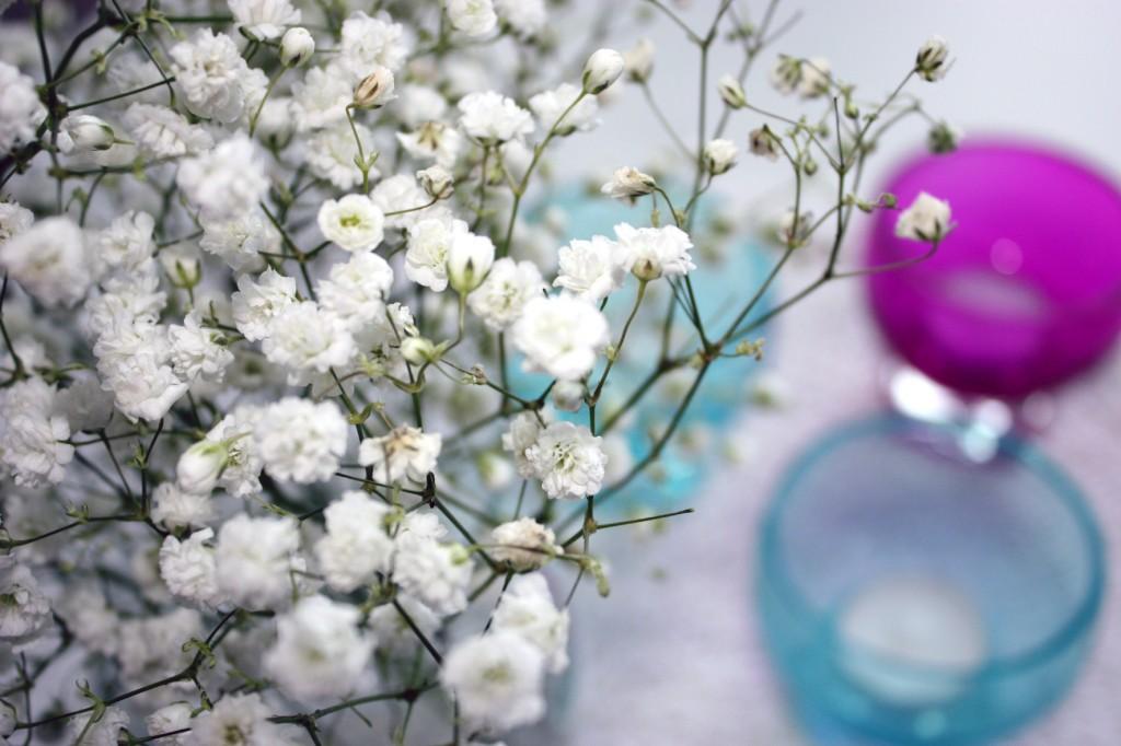 Detalj blomma bord
