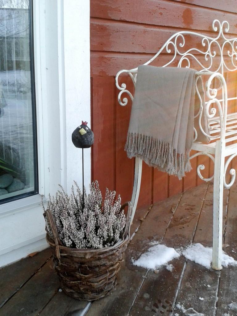 Korg och filt Vinter (1 av 1)